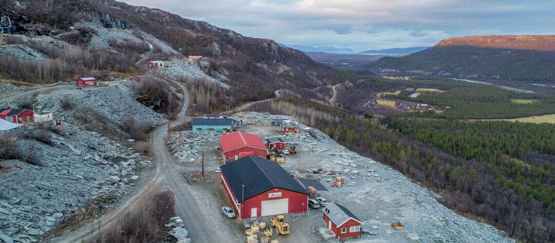 Alta groeve in Noorwegen